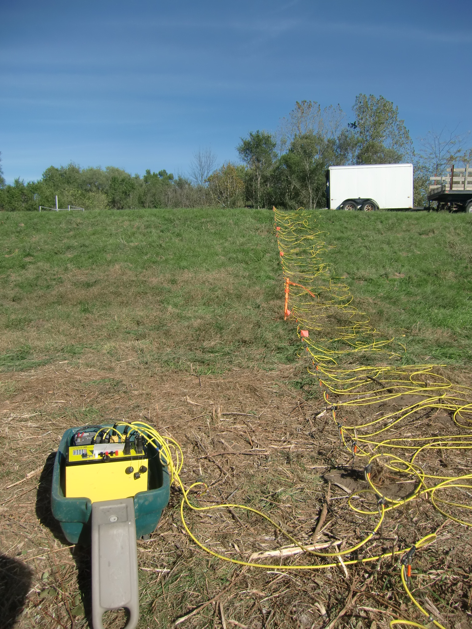 earth resistivity Soil resistivity directly affects the design of a grounding (earthing) electrode system and is the prime factor that determines the resistance to earth of a grounding electrode or grounding electrode system.